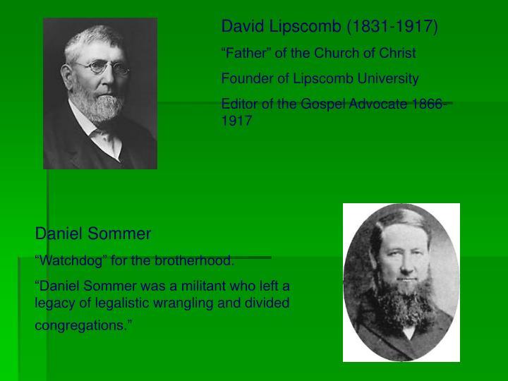 David Lipscomb (1831-1917)