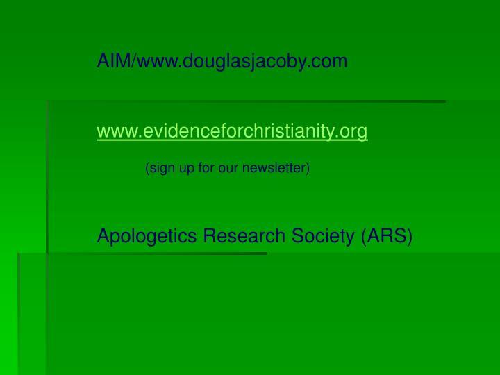 AIM/www.douglasjacoby.com