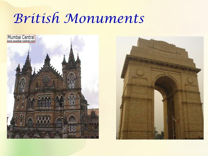 British Monuments