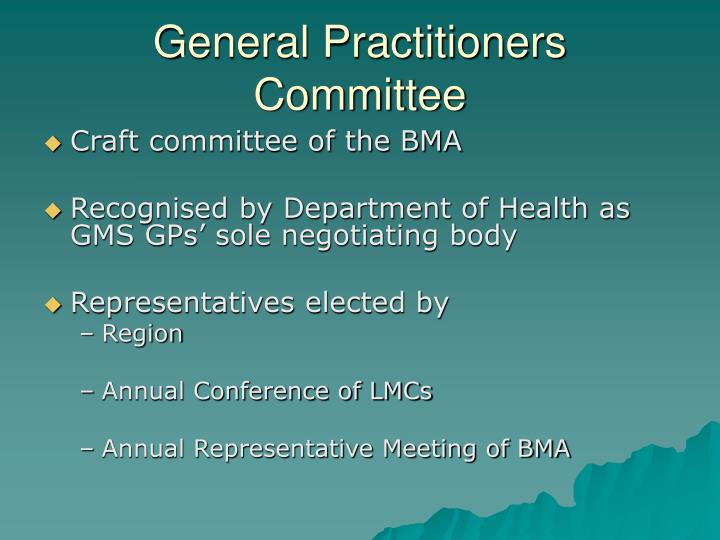 General Practitioners Committee