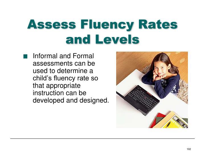 Assess Fluency Rates