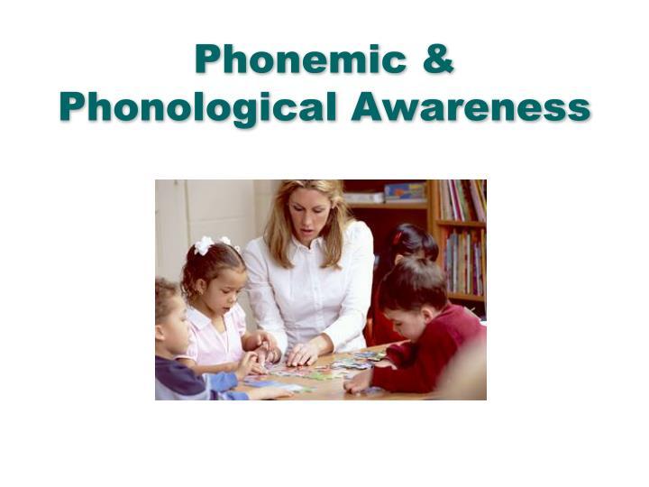 Phonemic &