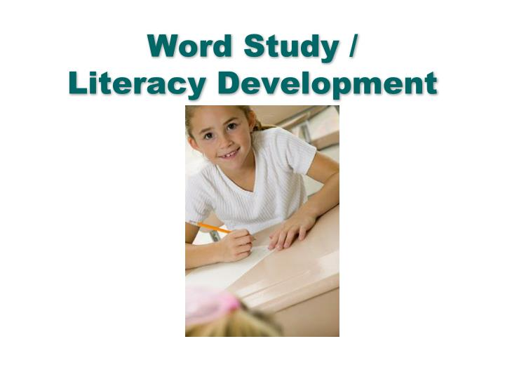 Word Study /