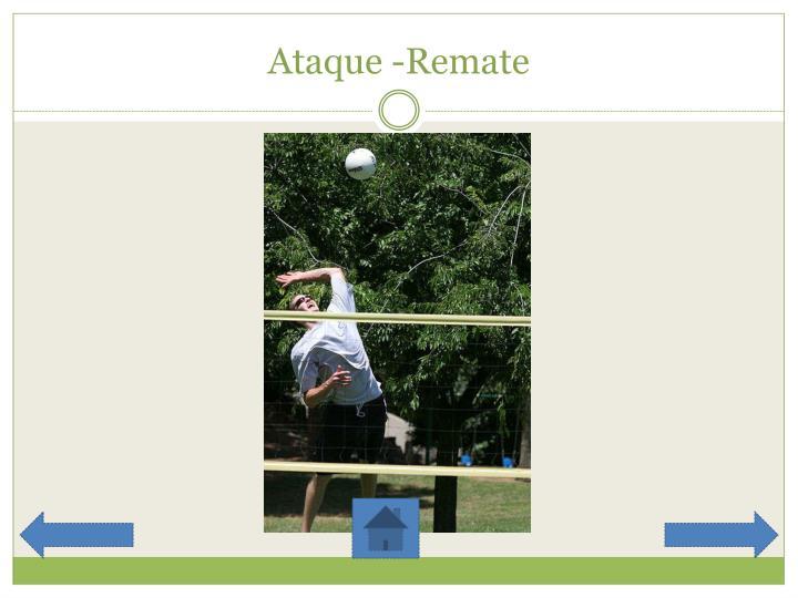 Ataque -Remate