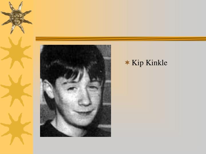 Kip Kinkle