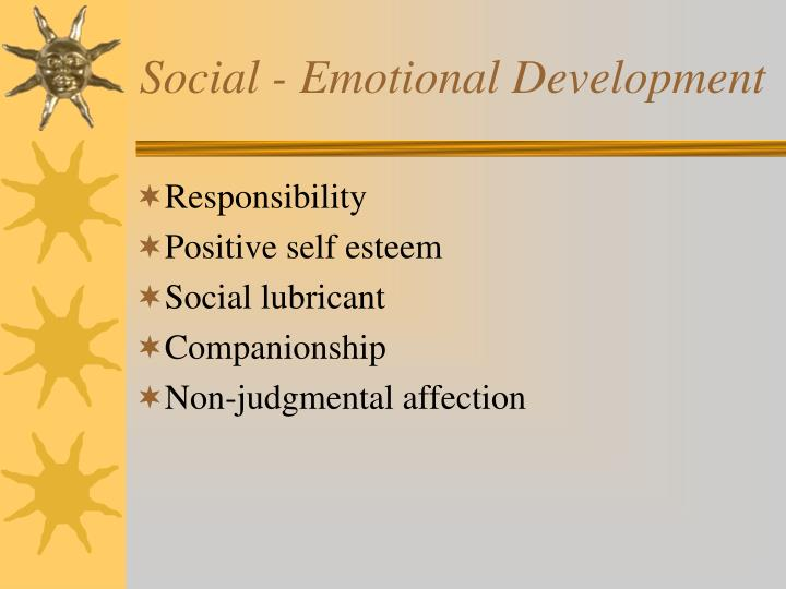 Social - Emotional Development