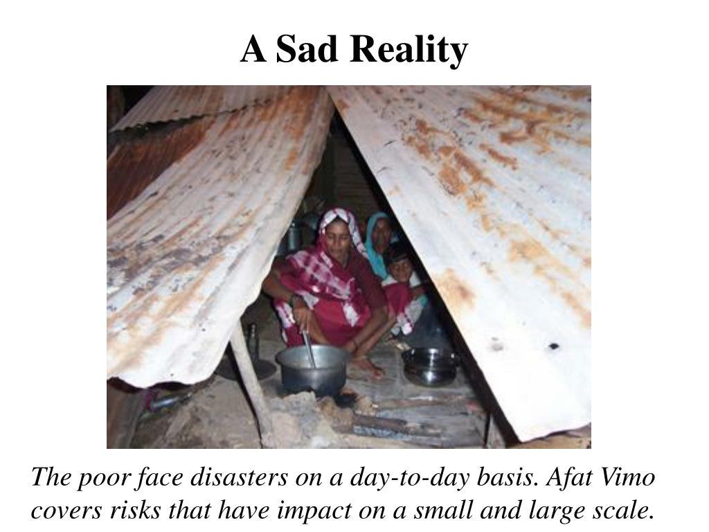 A Sad Reality