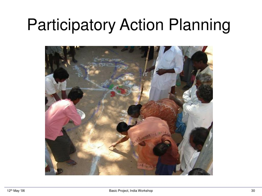 Participatory Action Planning