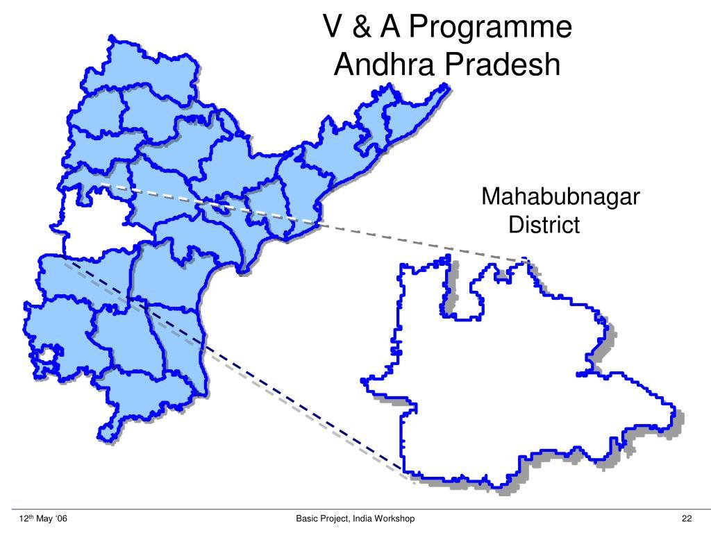 V & A Programme