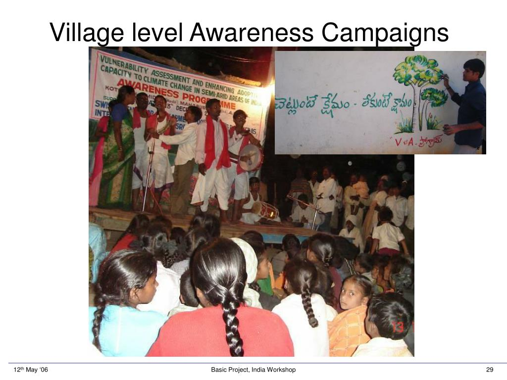 Village level Awareness Campaigns