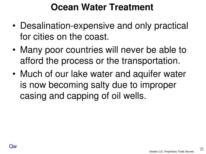 Ocean Water Treatment