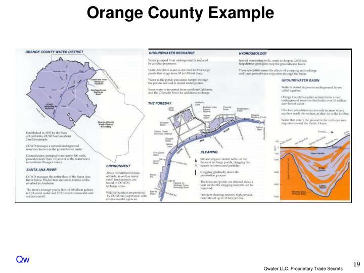 Orange County Example