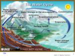 the simplified water cycle