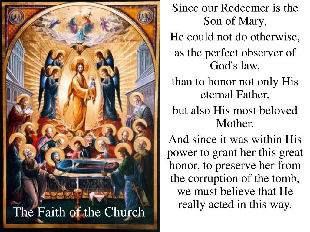 The Faith of the Church