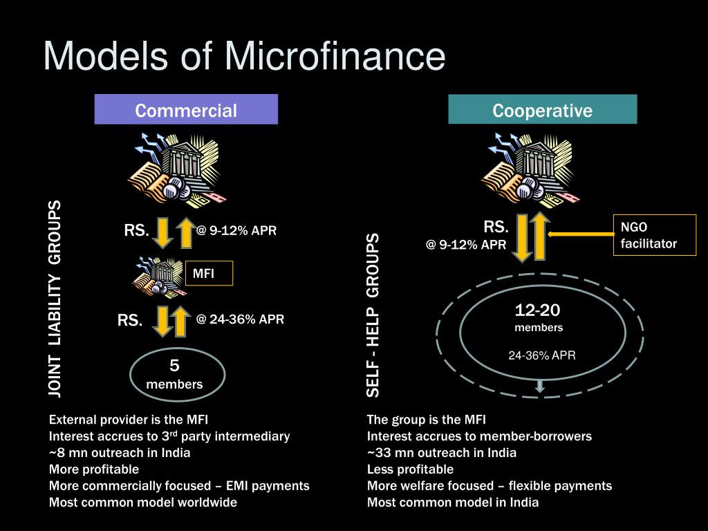 Models of Microfinance