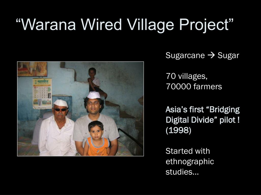 """Warana Wired Village Project"""