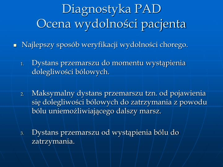 Diagnostyka PAD