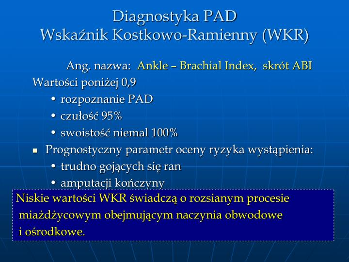 Diagnostyka PAD