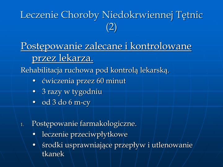Leczenie Choroby Niedokrwiennej Ttnic (2)