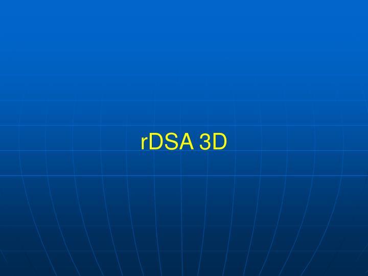 rDSA 3D