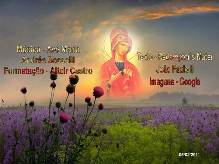 Msica - Ave Maria