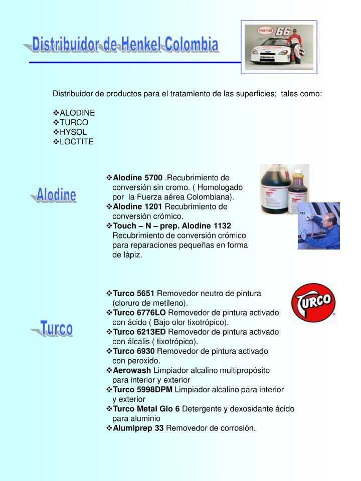 Distribuidor de Henkel Colombia