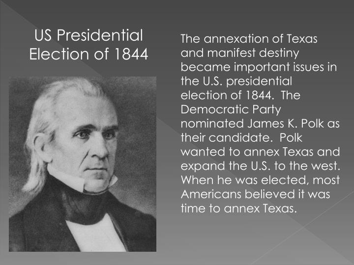 US Presidential Election of 1844