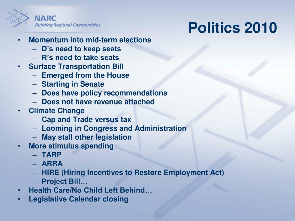 Politics 2010