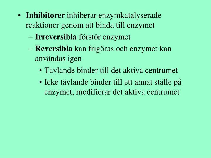 Inhibitorer