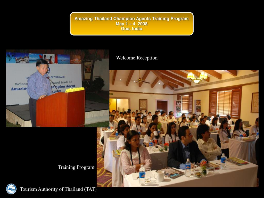 Amazing Thailand Champion Agents Training Program