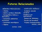fatores relacionados