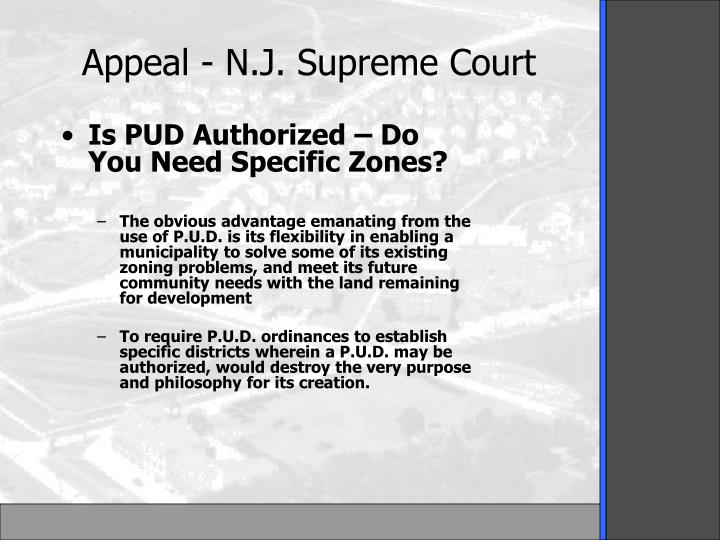 Is PUD Authorized – Do You Need Specific Zones?