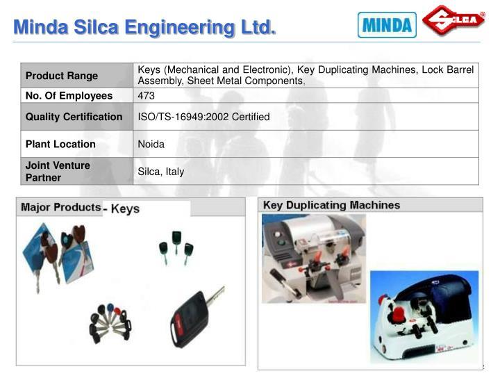 Minda Silca Engineering Ltd.