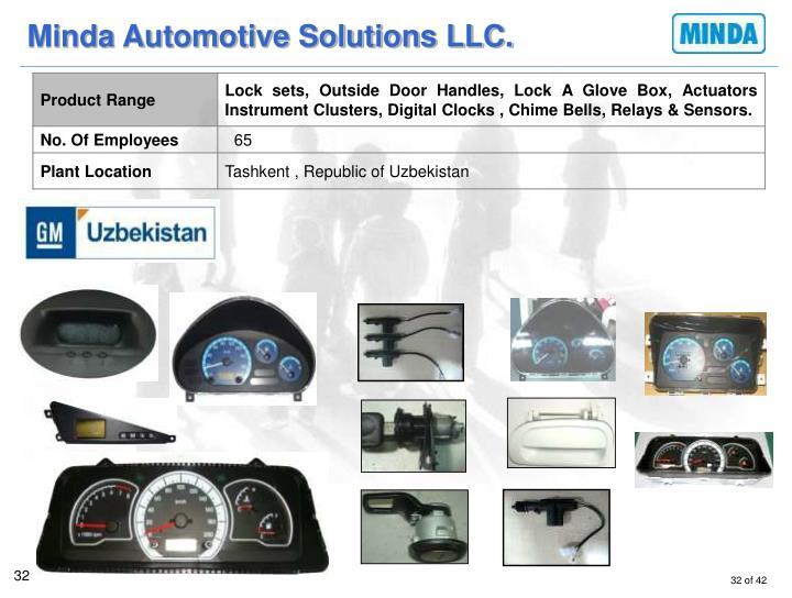 Minda Automotive Solutions LLC.