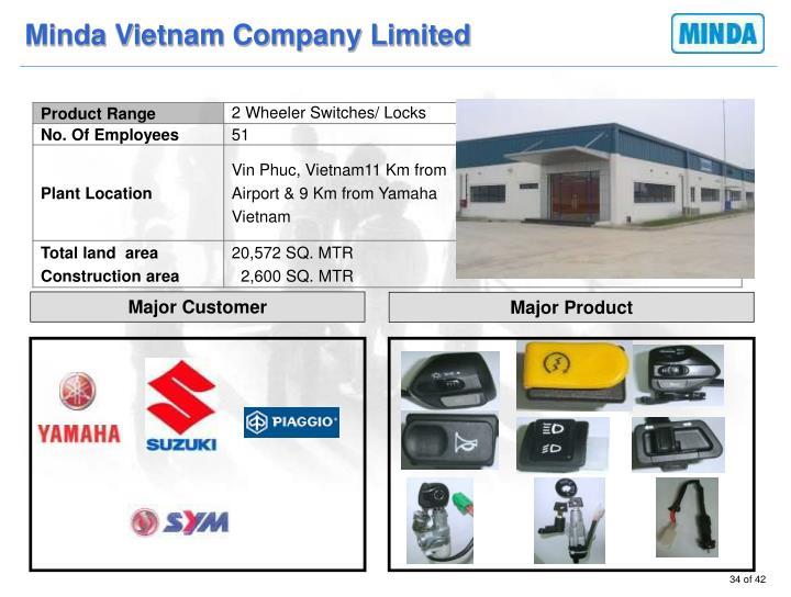 Minda Vietnam Company Limited