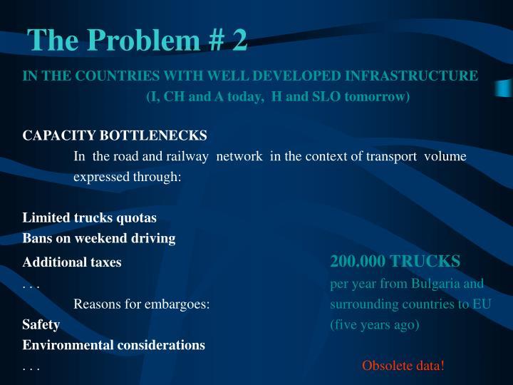 The Problem # 2