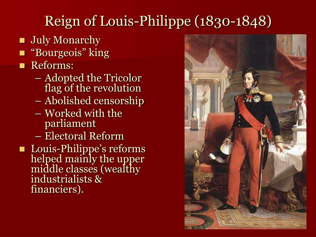 Reign of Louis-Philippe (1830-1848)