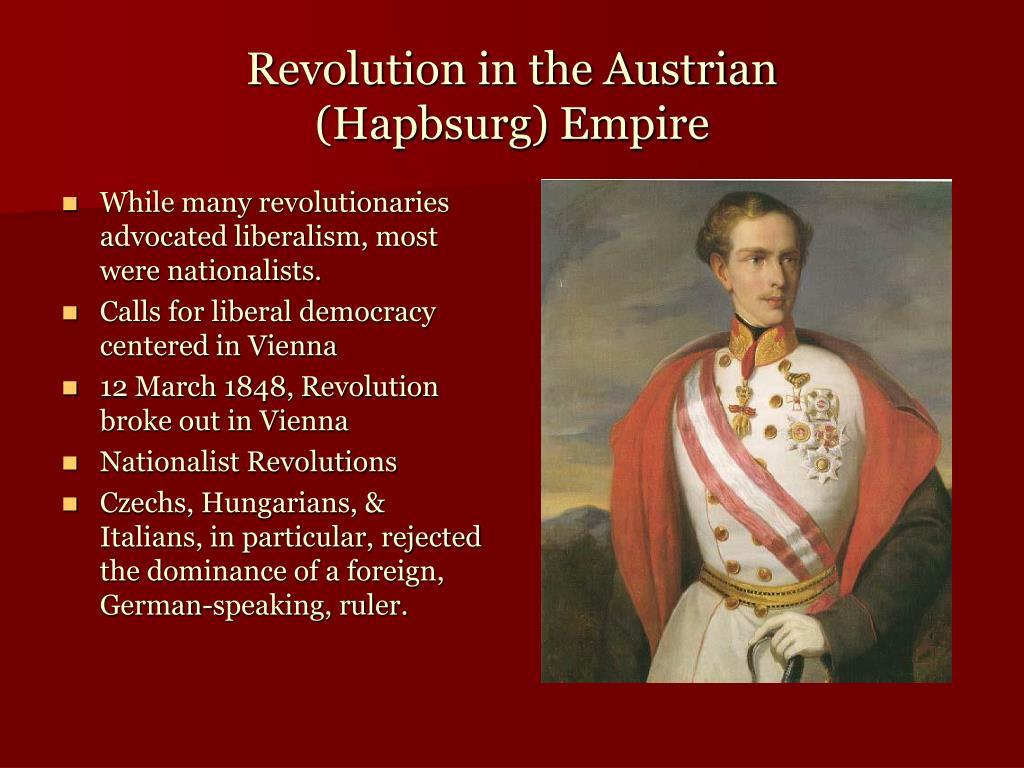 Revolution in the Austrian