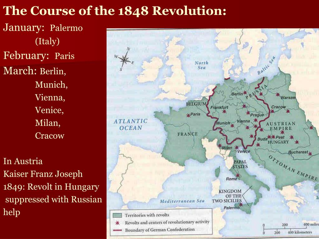 The Course of the 1848 Revolution: