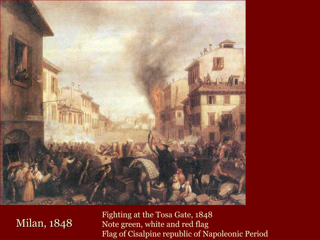 Fighting at the Tosa Gate, 1848