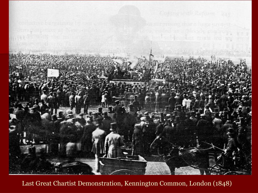 Last Great Chartist Demonstration, Kennington Common, London (1848)