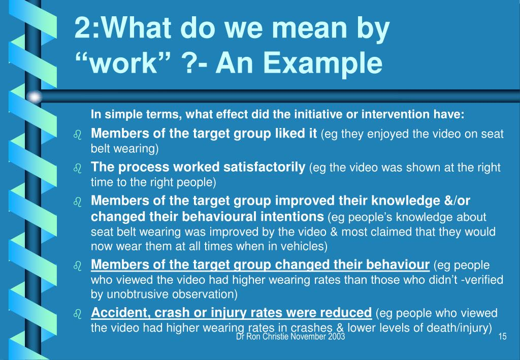 2:What do we mean by