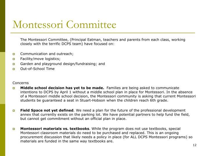 Montessori Committee