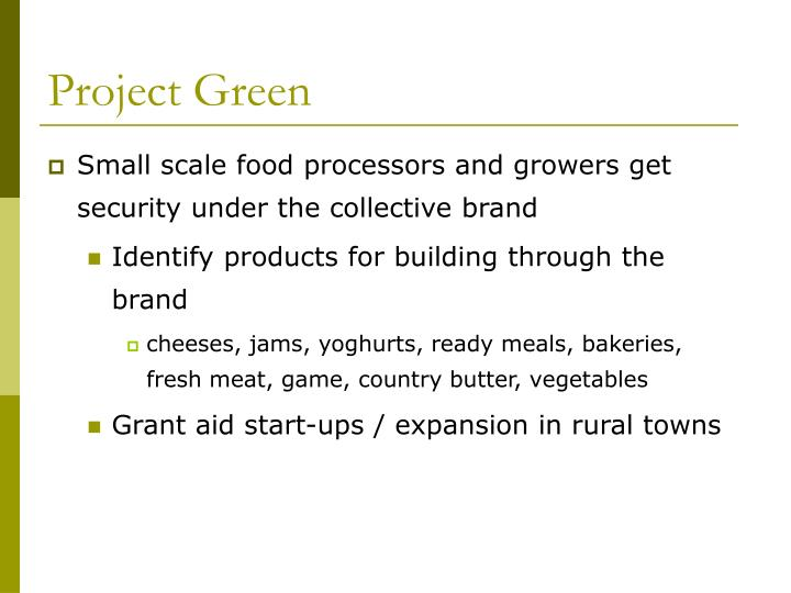Project Green