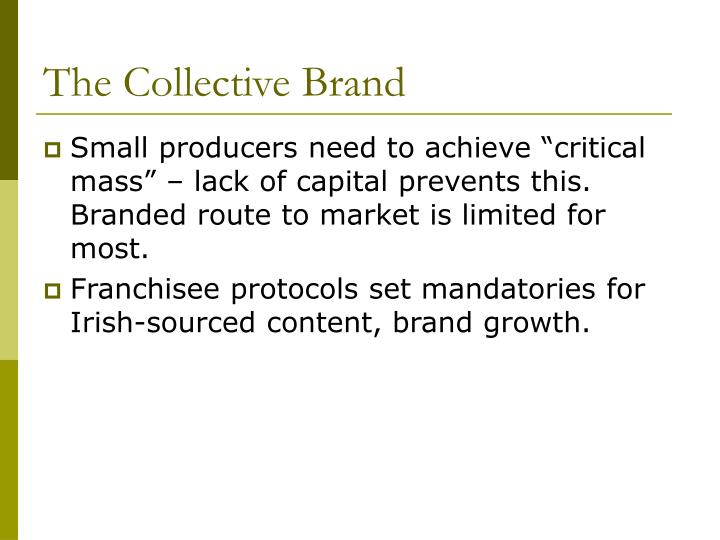 The Collective Brand