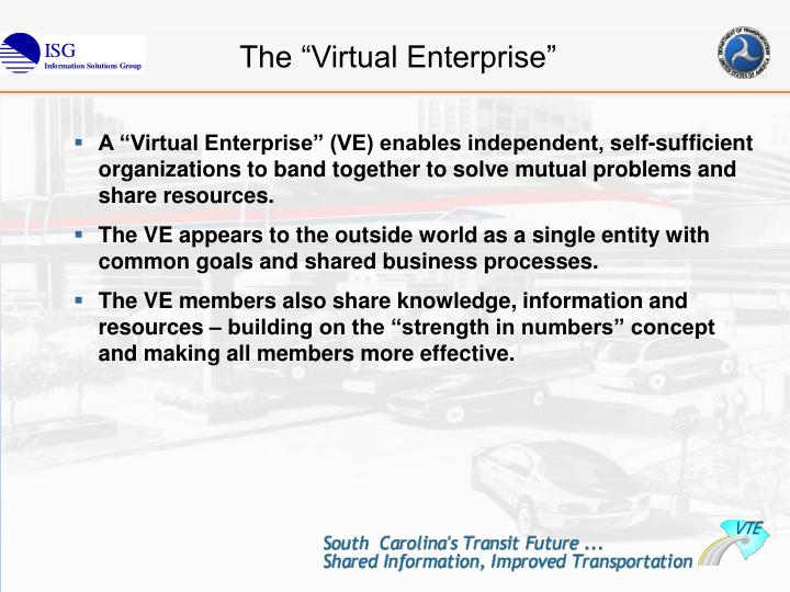"The ""Virtual Enterprise"""