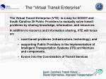 the virtual transit enterprise
