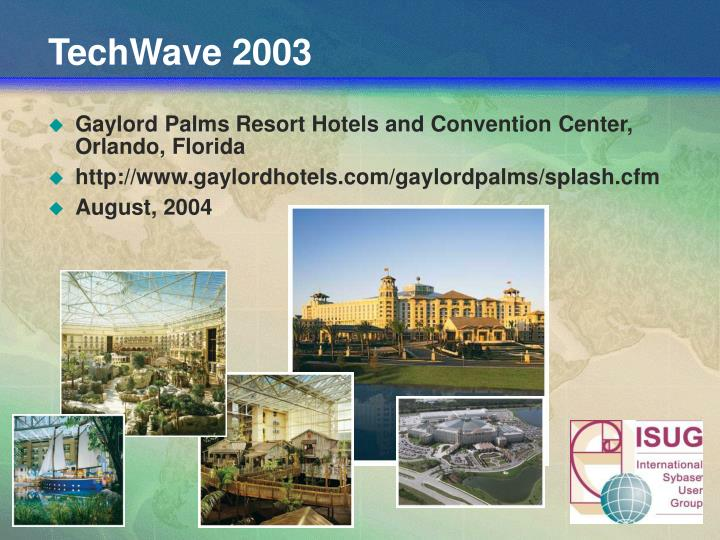 TechWave 2003