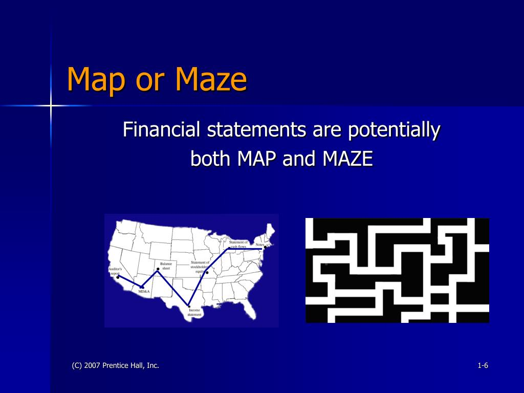 Map or Maze