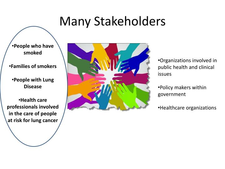 Many Stakeholders